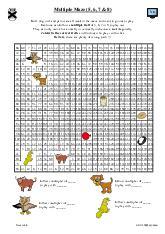 Multiple Maze (5, 6, 7 & 8)