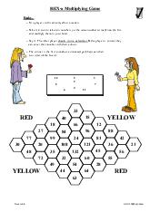 Hex - A Multiplying Game